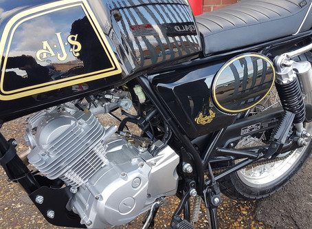 Stevelin Motorcycles AJS Motorcycle Dealer in Cambridgeshire