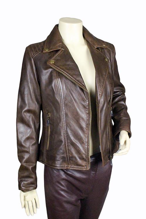 Naples Ladies Leather Jacket