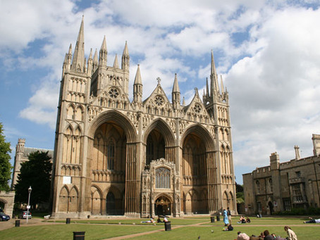 PETERBOROUGH CATHEDRAL SET TO REOPEN