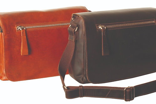 Ashwood Kingsbury Large Messenger Bag