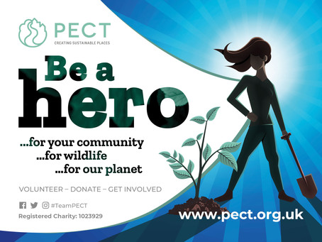 PETERBOROUGH CHARITY PECT LOOKING FOR GREEN HEROES