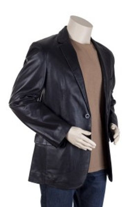 Milano Mens Leather Blazer