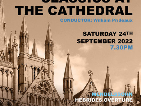 TICKETS ON SALE FOR ROYAL PHILHARMONIC CONCERT AT PETERBOROUGH CATHEDRAL