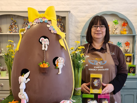 GIANT EASTER EGG TO BE RAFFLED IN AID OF PETERBOROUGH FARM ATTRACTION