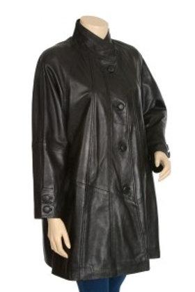 Sofia Womens Black Leather Jacket