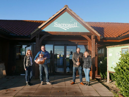 PETERBOROUGH'S GIN FANS GET A BOOST WITH NEW DISTILLERY LAUNCH AT SACREWELL