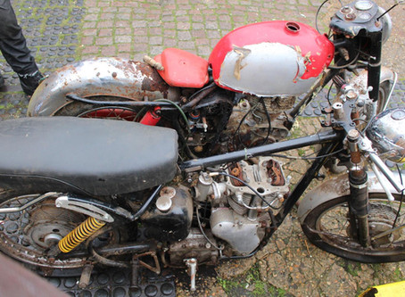 Hyperion Auctions St Ives 1960s Velocette Venom Motorcycle