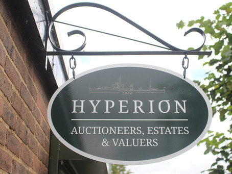 Hyperion Auctions launch new website