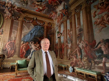 TV SHOW SPARKS INTEREST IN BURGHLEY HOUSE