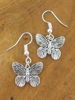 Suzy Blue butterfly earrings
