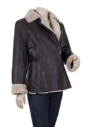 Amy Womens Sheepskin Leather Jacket