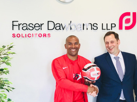 Fraser Dawbarns raise £11,186 for Sports Connections Foundation Childrens Charity