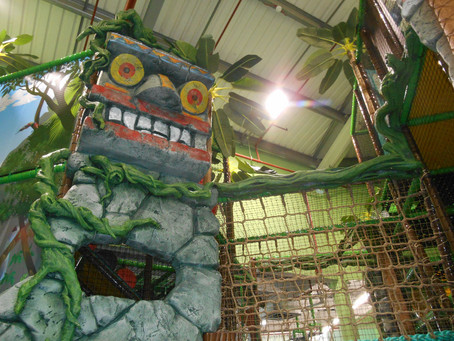 LOST WORLD PLAY CENTRE IS OPEN AGAIN IN PETERBOROUGH