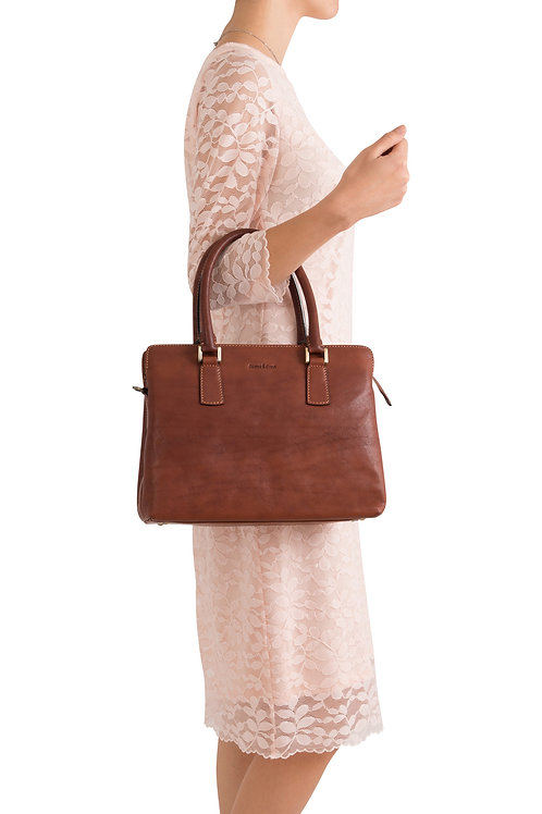 Gianni Conti hand bag with detachable shoulder strap