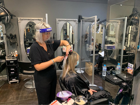 HEALTH AND BEAUTY – SAFELY BACK IN THE SALON