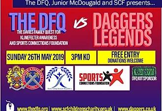 The DFQ vs. Daggers Legends