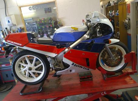 Honda VFR750R Stevelin Motorcycles Ramsey