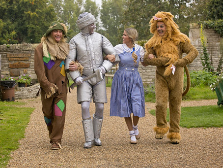 WE'RE OFF TO SEE THE WIZARD AT THE CRESSET!