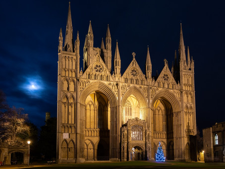 PETERBOROUGH CATHEDRAL RE-OPENS