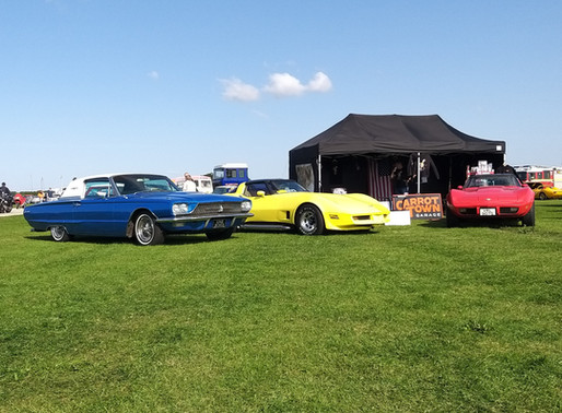 Carrot Town Garage Car Club at the Sywell Classic 2020