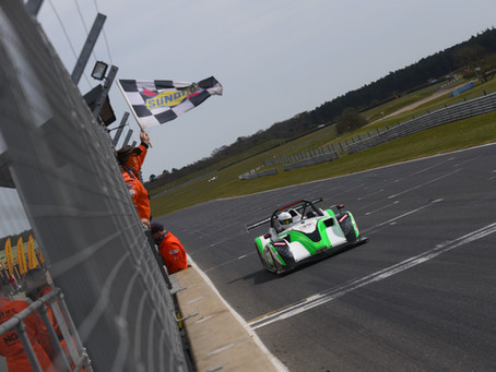 DOUBLE PODIUM FOR LAY ON CAR RACING DEBUT