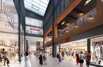 EXTENSION WORKS TO START ON QUEENSGATE IN PETERBOROUGH