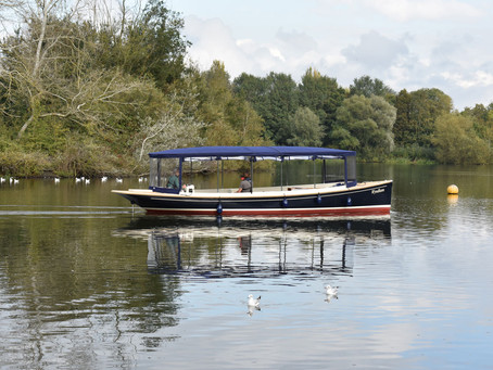 NEW ELECTRIC BOAT READY TO LAUNCH AT PETERBOROUGH'S NENE PARK
