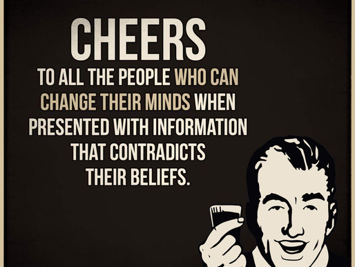 Can you change your mind if it challenges a belief?