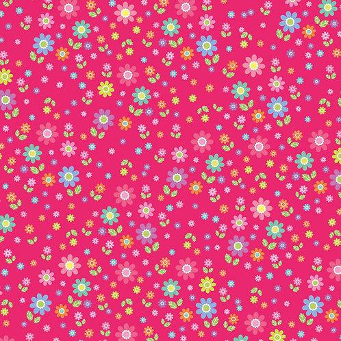"""Tissu à motifs """"fleuri"""""""