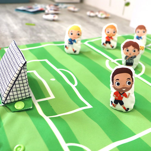Terrain de foot ET équipes