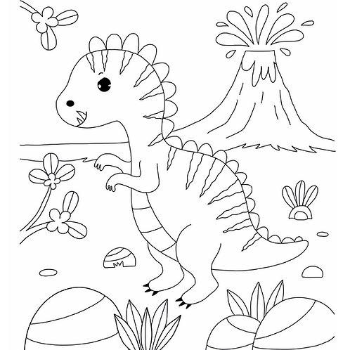 Coloriage Dinos