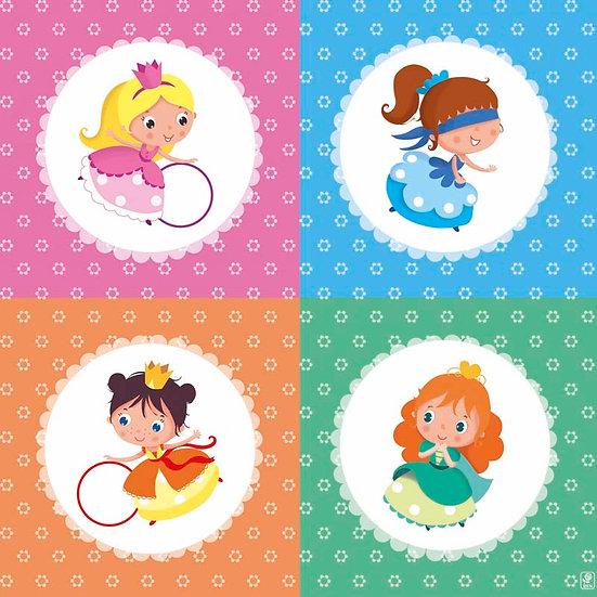 Princesses couleur