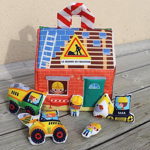 Maison en chantier à coudre
