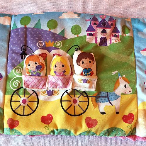 Tapis princesses - 3 volets