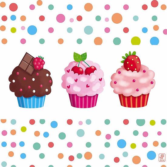 Carré Cupcake