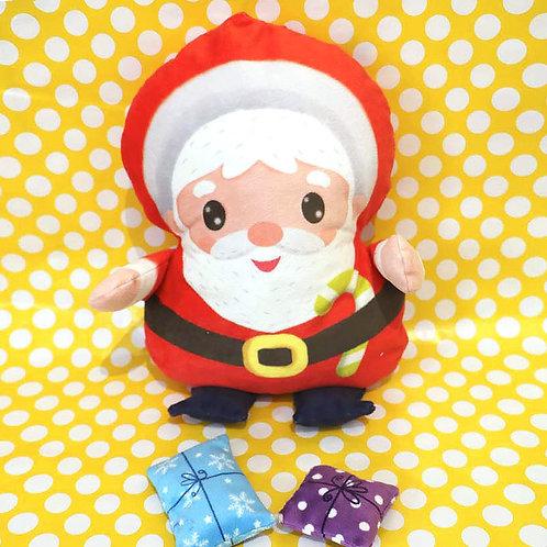 Doudou Père Noël à coudre