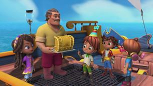 Nickelodeon SANTIAGO OF THE SEAS, Tómas' Birthday Surprise Airs Friday, July 9th!