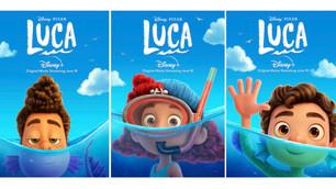 Digital Code Online Giveaway!  Disney/Pixar LUCA Splashes onto Digital, 4K Ultra HD, Blu-ray!
