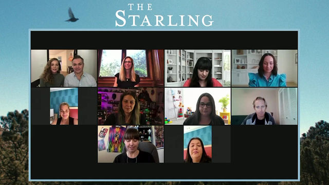 THE STARLING Junket with Director Ted Melfi, Producing Partner Kimberly Quin!