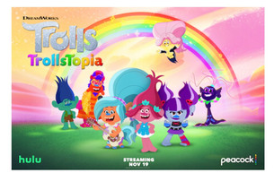 PEACOCK EXPANDS KIDS PROGRAMMING WITH NEW SERIES DREAMWORKS 'TROLLSTOPIA' AND 'THE MIGHTY ONES'!