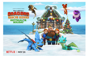 Celebrate Holiday Magic with Festive New DreamWorks Animation Specials