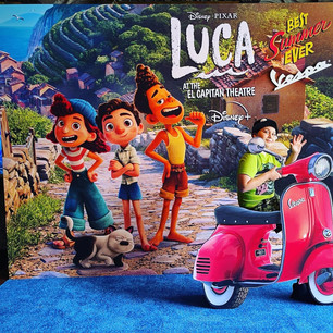 """ENJOY a """"Luca"""" themed PHOTO OP at El Capitan Theatre and More!"""