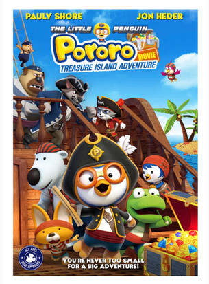 Pauly Shore and Jon Heder Return to Voice Next Installment of THE LITTLE PENGUIN PORORO!