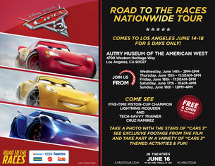 Cars 3 Road to the Races Tour | Los Angeles, CA