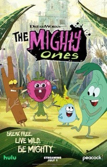 """""""Season 2 of The Mighty Ones from DreamWorks Animation Premieres on Peacock and Hulu on July 1st""""!"""