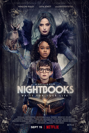 NIGHTBOOKS with Krysten Ritter, Lidya Jewett & Winslow Fegley is Horrifically Spooktacular!