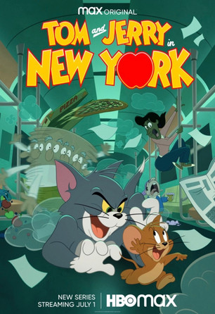 HBO Max: New 'Tom and Jerry in New York' Animated Series on HBO MAX!