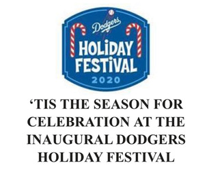 Dodgers Holiday Festival, Interactive Drive Thru to Celebrate World Champions and Holiday Season!