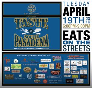 5th Annual Taste of South Pasadena