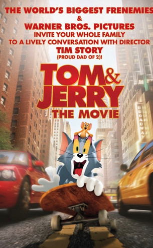 TOM & JERRY THE MOVIE opens this Friday, February 26th in-theaters and on HBO Max!
